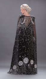 Alexander McQueen The Moon Dress _ Cape1
