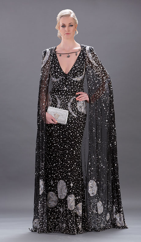 The Moon Dress Amp Cape Sw One Fashion Dubai