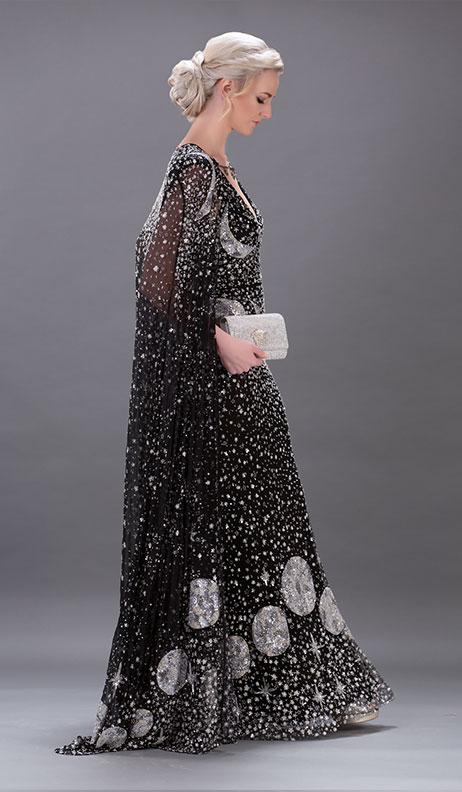 Alexander McQueen The Moon Dress _ Cape