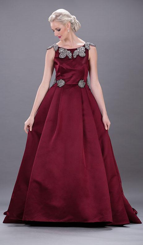 Dolce_Gabbana - Burgundy Stones