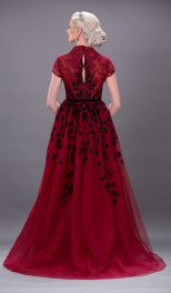 Georges Hobeika – Cherry Cord Lace1