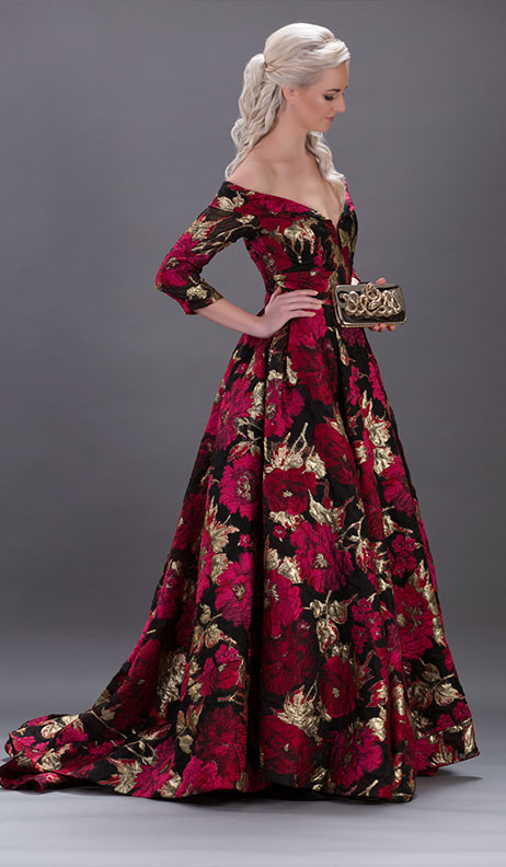 Naeem Khan - Royal Bordeaux