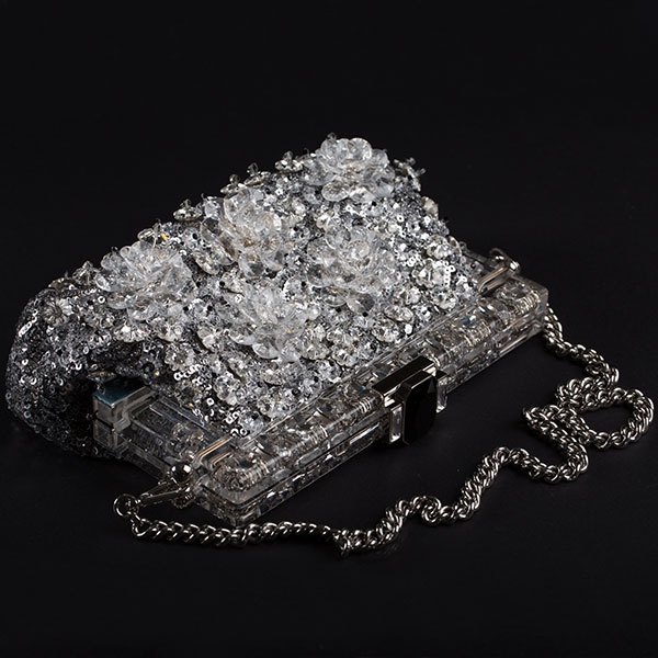 Transparent jewel box