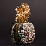 gold gems embellished